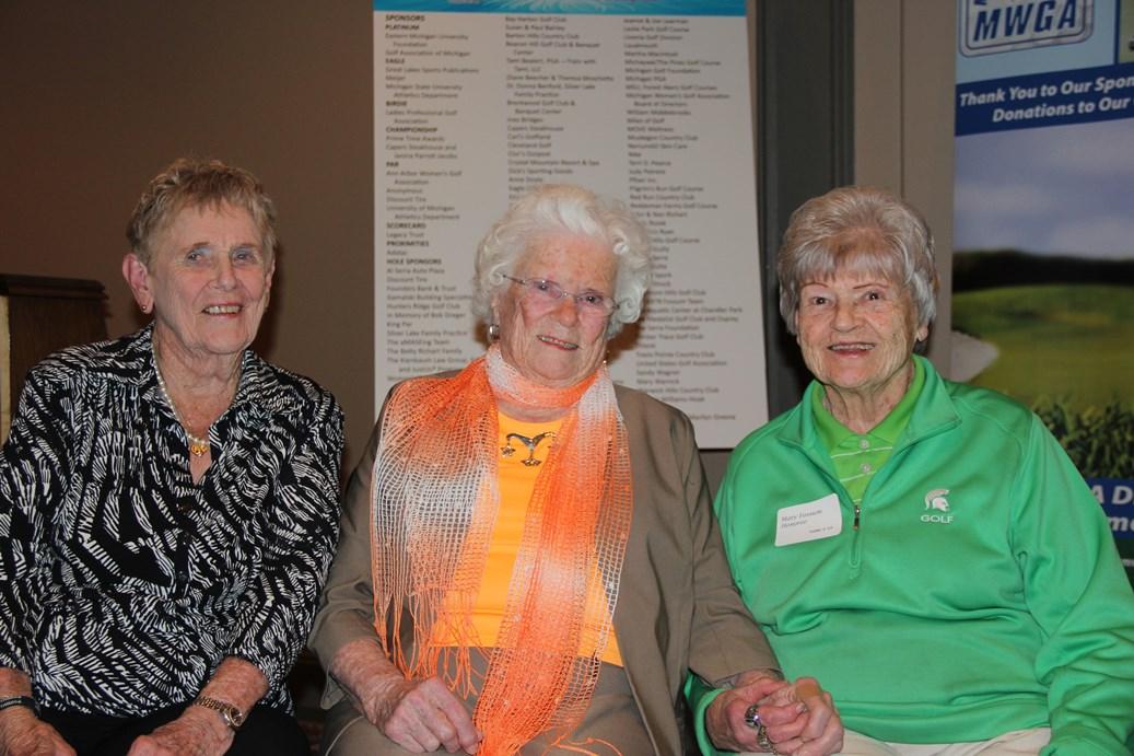 Shirley Spork, Betty Richart, Mary Fossum